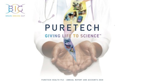PureTech announces Annual Results for year ended December 31, 2020. Company to host a webcast and conference call at 9:00am EDT on April 15, 2021. (Graphic: Business Wire)