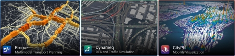 INRO is a global leader in multimodal transportation planning, traffic simulation, and mobility visualization software (Image courtesy of INRO)