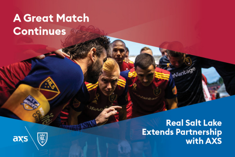 Real Salt Lake and Rio Tinto Stadium extend long-term partnership with AXS (Graphic: Business Wire)