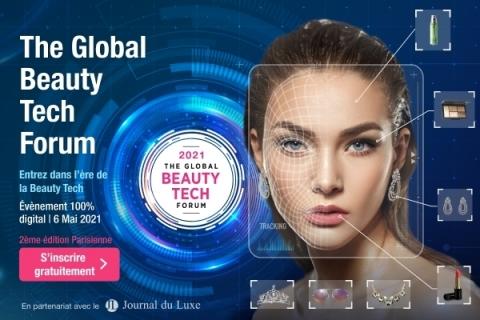 Perfect Corp lance la 2ème édition du Global Beauty Tech Forum en partenariat avec le Journal du Luxe le 6 Mai 2021 (Photo: Business Wire)