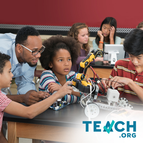 As we return to learning in person, it is important to reengage students with the exceptional teachers they deserve. TEACH.org is looking for those who want to make a difference in the lives of schoolchildren. (Photo: Business Wire)