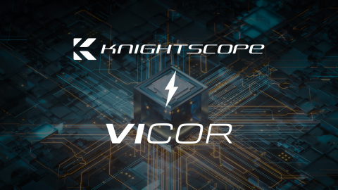 Knightscope selects Vicor high-performance power modules for its 5th Generation Autonomous Security Robots. (Graphic: Business Wire)