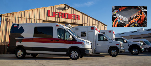 Lightning eMotors and REV Group Subsidiary to Produce Electric Ambulances (Photo: Business Wire)