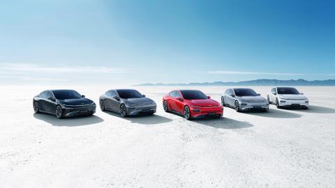 XPeng smart EV fleet