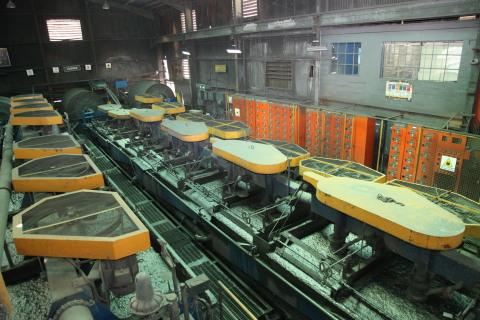 Image 1: Yauricocha Mine, Chumpe Plant Flotation Cells (Photo: Business Wire)