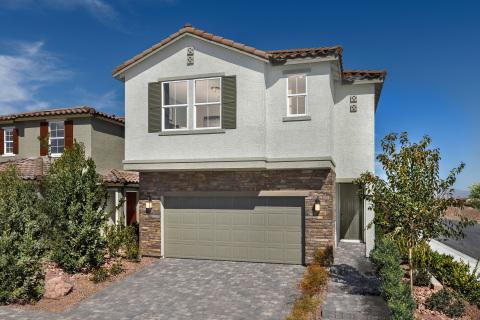 KB Home announces the grand opening of Casa Bella, a new-home community in a convenient East Las Vegas location. (Photo: Business Wire)