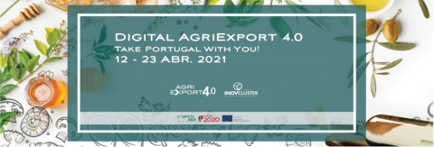 An international digital business event is taking place under the slogan of Take Portugal With You: Digital Agriexport 4.0. The event runs from April 12 to 23. (Graphic: Business Wire)