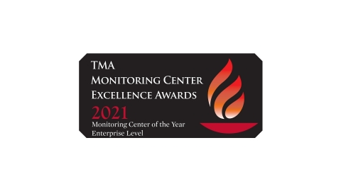 The Monitoring Association named Vivint Smart Home its Monitoring Center of the Year Award for 2021. (Graphic: Business Wire)