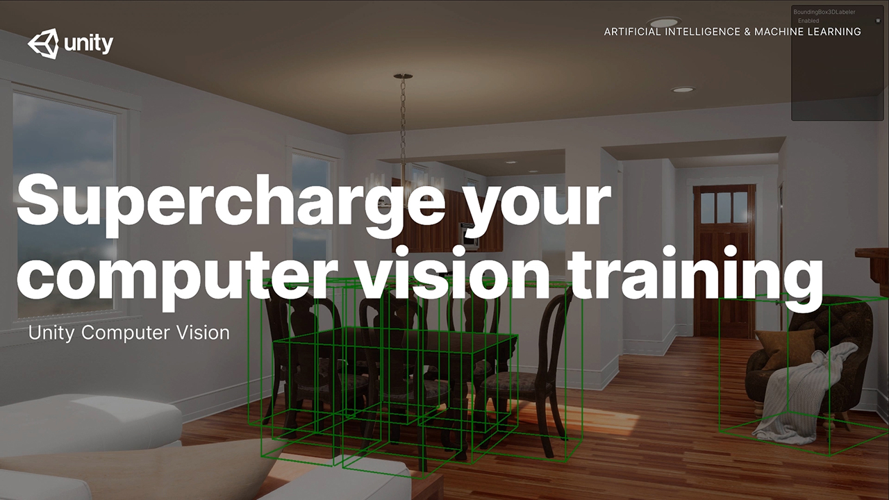 Unity today announced the availability of Unity Computer Vision Datasets aimed to reduce the cost of developing computer vision applications, and more quickly train AI for the Manufacturing, Retail, and Security industries.