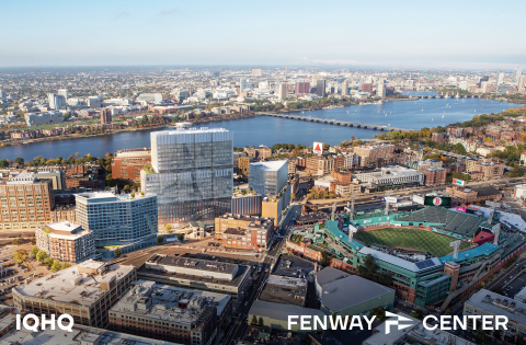 IQHQ's $1 billion Fenway Center development, a state-of-the-art life science campus, will anchor a growing life science district between Kenmore Square and the Longwood Medical and Academic Area (Photo: Business Wire)