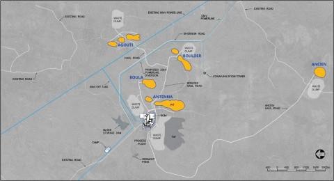 Figure 2. Séguéla Site Layout (Graphic: Business Wire)