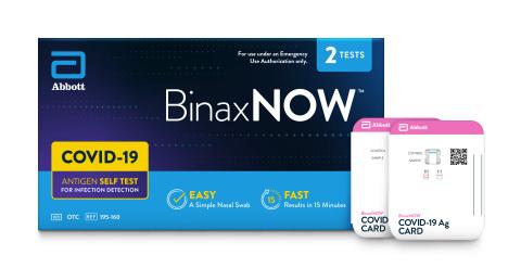 BinaxNOW™ Rapid Antigen Self Test (Photo: Business Wire)