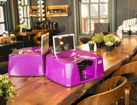 Fingernails2Go's Countertop Nail Art Printer, the perfect addition to any beauty business (Photo: Business Wire)