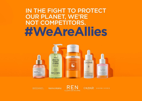 In the fight to protect our planet, we're not competitors #WeAreAllies (Graphic: Business Wire)
