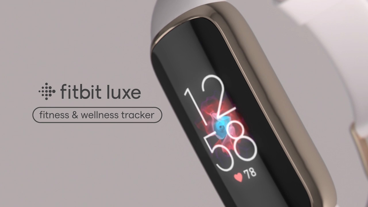 Meet Fitbit Luxe, a new fashion-forward fitness and wellness tracker with a slim color touchscreen and beautiful design.
