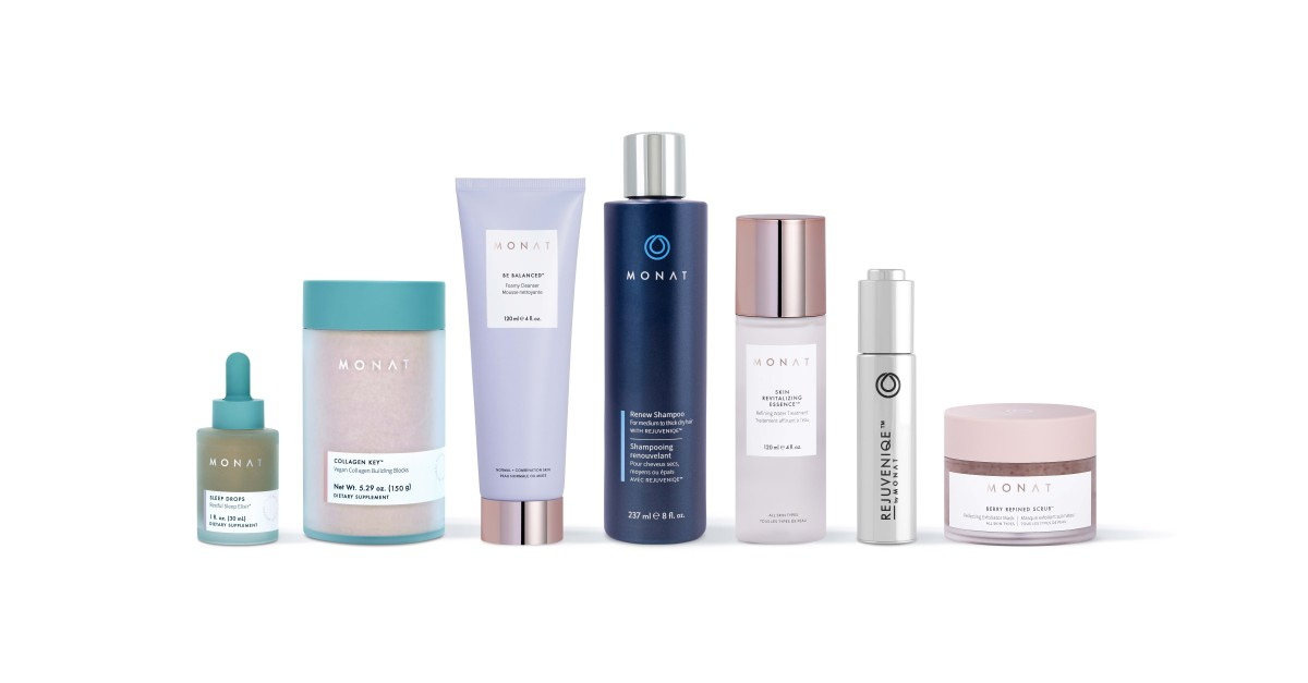 """MONAT Launches """"Building a Beautiful World"""" Sustainability Program With TerraCycle® Recycling Partnership and New Products"""