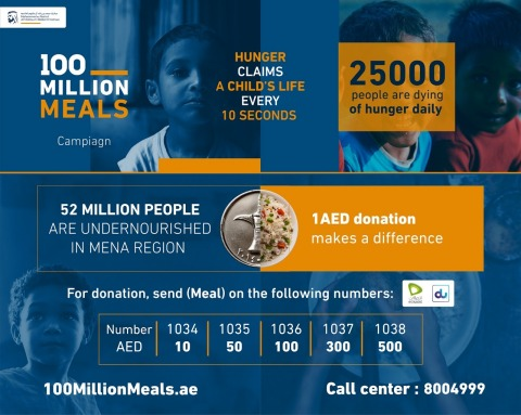 100 Million Meals Initiative (Graphic: Business Wire)