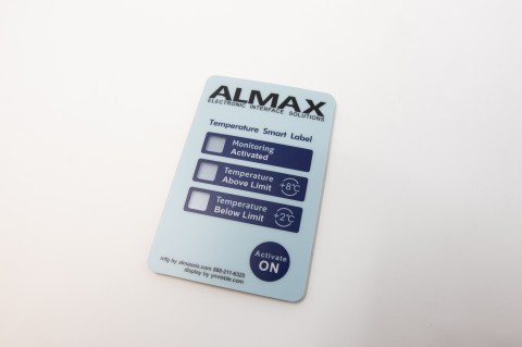 Ynvisible and ALMAX have signed a Transfer Agreement for North American and Chinese commercial production of a Temperature Threshold Indicator tag. (Photo: Business Wire)