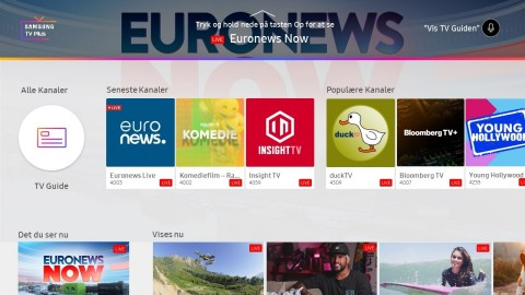 TV Plus Interface (Graphic: Business Wire)