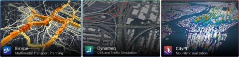 A INRO é líder global em software de planejamento de transporte multimodal, simulação de tráfego e visualização de mobilidade (Image courtesy of INRO)