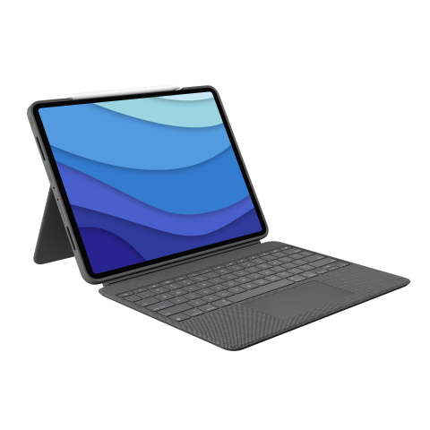 "Logitech Combo Touch, Logitech's Most Versatile Case with Detachable Keyboard and Integrated Trackpad, Is Ready for the Next Generation of iPad Pro 12.9"" and iPad Pro 11"" (Photo: Business Wire)"