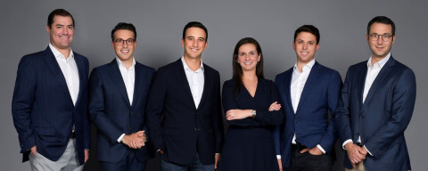 UBS Private Wealth Management announced today that a six-person team managing $5 billion in assets has joined the firm in UBS's South Florida market. Pictured from left to right: Brian Beraha, Alexis Audisio, Jared Pillar, Michelle Gonzalez, Horacio Aguirre and Vicente Del Rio. (Photo: Business Wire)