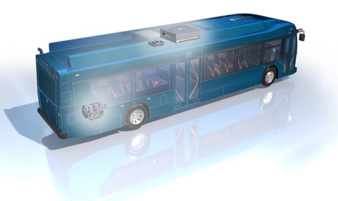 Allison Transmission's eGen Flex, its next generation electric hybrid propulsion solution, will be put into revenue service at New York City Transit (NYCT) in May (Photo: Business Wire)