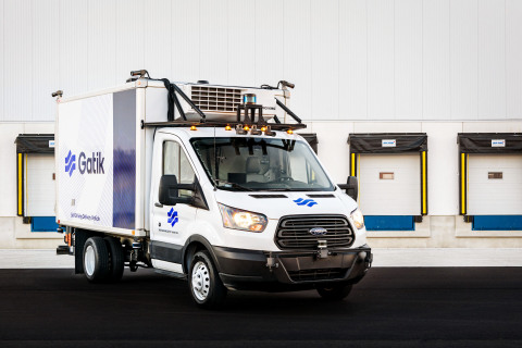 Velodyne Lidar announced a multi-year sales agreement with Gatik, industry leader in automating on-road transportation networks for B2B middle mile logistics. Gatik uses Velodyne's lidar sensors to support short-haul logistics with precise, reliable navigation for real-time autonomous operations. (Photo: Gatik)