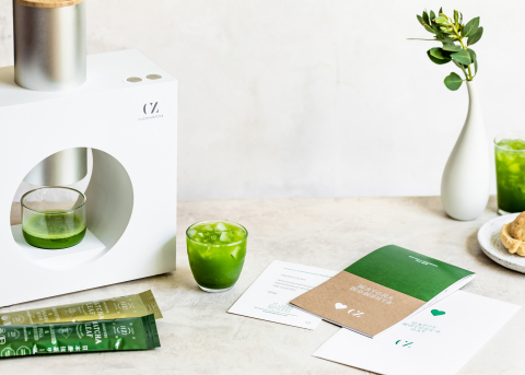 """Give the gift of freshly ground matcha with Cuzen's limited-edition Mother's Day """"Starter Kit,"""" featuring recipes from leading chefs like SingleThread's Kyle Connaughton. (Photo: Cuzen Matcha)"""