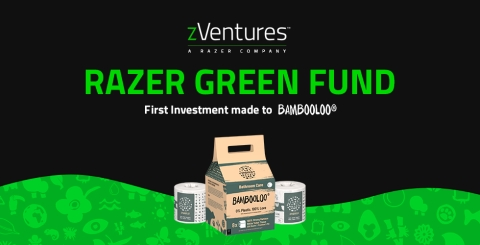 Razer zVentures makes its first investment from the Razer Green Fund to BAMBOOLOO. (Graphic: Business Wire)