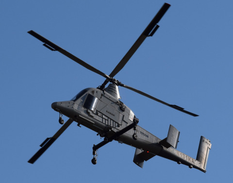 1st Flight of Unmanned K-MAX TITAN™ (Photo: Business Wire)