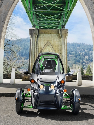 Arcimoto manufactured a record 84 vehicles in the first quarter of 2021. (Photo: Business Wire)