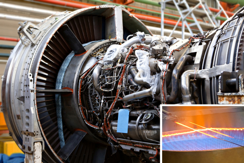 Fire-resistant insulations on M25038/3 wire and cable make this product ideal for application in aircraft engines. (Photo: Business Wire)