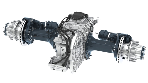 Allison Transmissions eGen Power™ 100D electric axle to be integrated in Emergency One's fire rescue and emergency vehicle platform. (Photo: Business Wire)