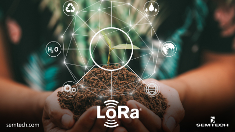 LoRa® devices and the LoRaWAN® protocol leveraged to remedy environmental challenges and drive global change (Photo: Business Wire)