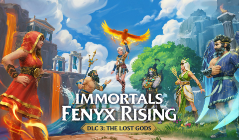 Expand your Immortals Fenyx Rising adventure with the game's third DLC installment, The Lost Gods. (Graphic: Business Wire)