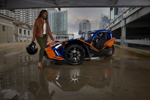 Polaris Slingshot x Women Behind the Wheel (Photo: Business Wire)