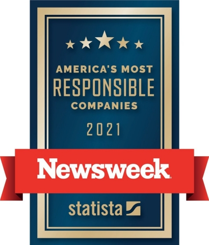 America's Most Responsible Companies 2021 (Graphic: Business Wire)