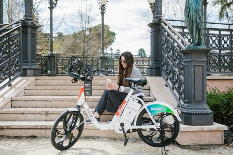 Micro-mobility Leader, Helbiz, Announces Launch of 400 E-bikes in Cesena, Italy (Photo: Business Wire)