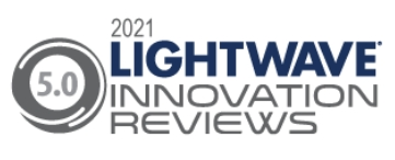 Two Keysight products received top scores in the category Lab/Production Test Equipment in the 2020 Lightwave Innovation Reviews program. The company's M8199A 128/256 GSa/s Arbitrary Waveform Generator (AWG) was recognized as a winner in the category, while the Keysight N4372E 110 GHz Lightwave Component Analyzer earned second place. (Graphic: Business Wire)