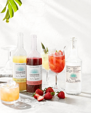 Williams Sonoma Launches New Cocktail Mixes with Casamigos (Photo: Business Wire)