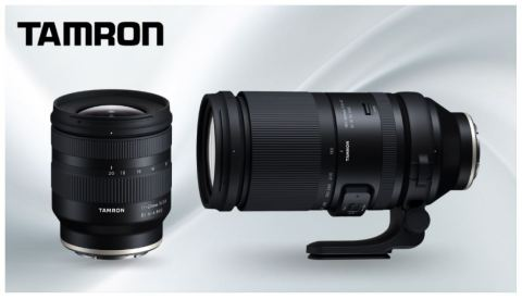 Tamron Announces a Super-Telephoto and Ultra-Wide Pair of Lenses for Sony E-Mount Cameras (Photo: Business Wire)