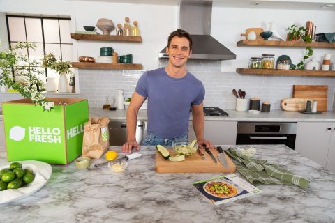 HelloFresh Teams up with Queer Eye Star and Cooking Expert Antoni Porowski to Promote Snappy Skillet Shortcuts for Home Cooks (Photo: Business Wire)