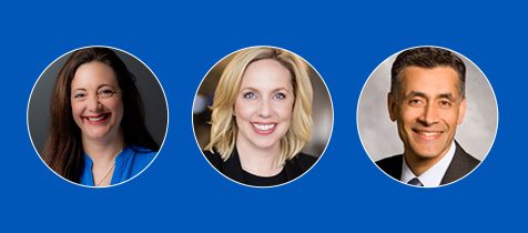 Optiv announces key executive appointments: Heather Allen Strbiak (chief human resources officer), Heather Rim, (chief marketing officer), and Ahmed Shah (senior vice president alliances and ecosystems). (Photo: Business Wire)