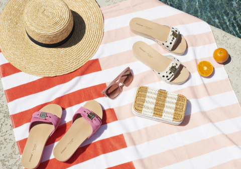 Kate Spade New York x Dr. Scholl's Shoes Release Second Capsule Collection for Summer 2021 (Photo: Business Wire)
