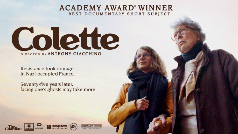 Colette Wins an Oscar® for Best Documentary Short at the 93rd Academy Awards® (Graphic: Business Wire)