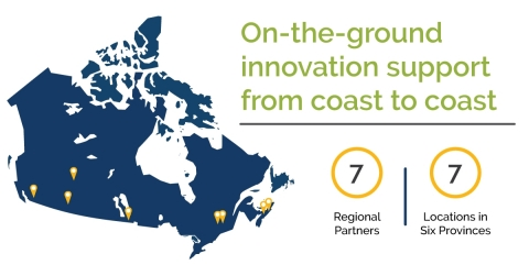 Innovation from coast to coast. (Graphic: Business Wire)