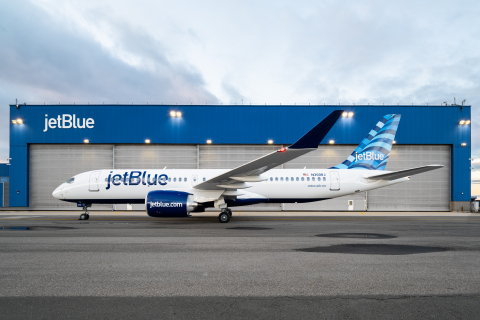 JetBlue's First Airbus A220-300 Featuring Incredible Comfort, Lower Operating Costs and Superior Performance Enters Scheduled Service