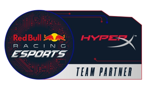HyperX Partners with Red Bull Racing Esports Team (Graphic: Business Wire)