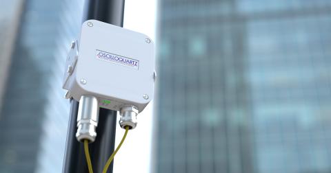 Die OSA 5405-MB von ADVA sorgt für eine Nanosekunden-genaue Taktung im Netzanschlussbereich (Foto: Business Wire)